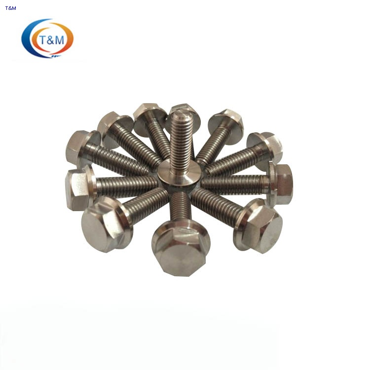 motorcycle titanium flange bolts racing