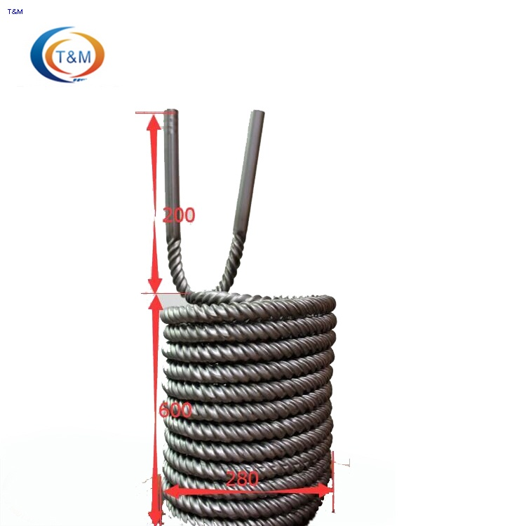 Titanium heat exchanger tubes for swimming pool